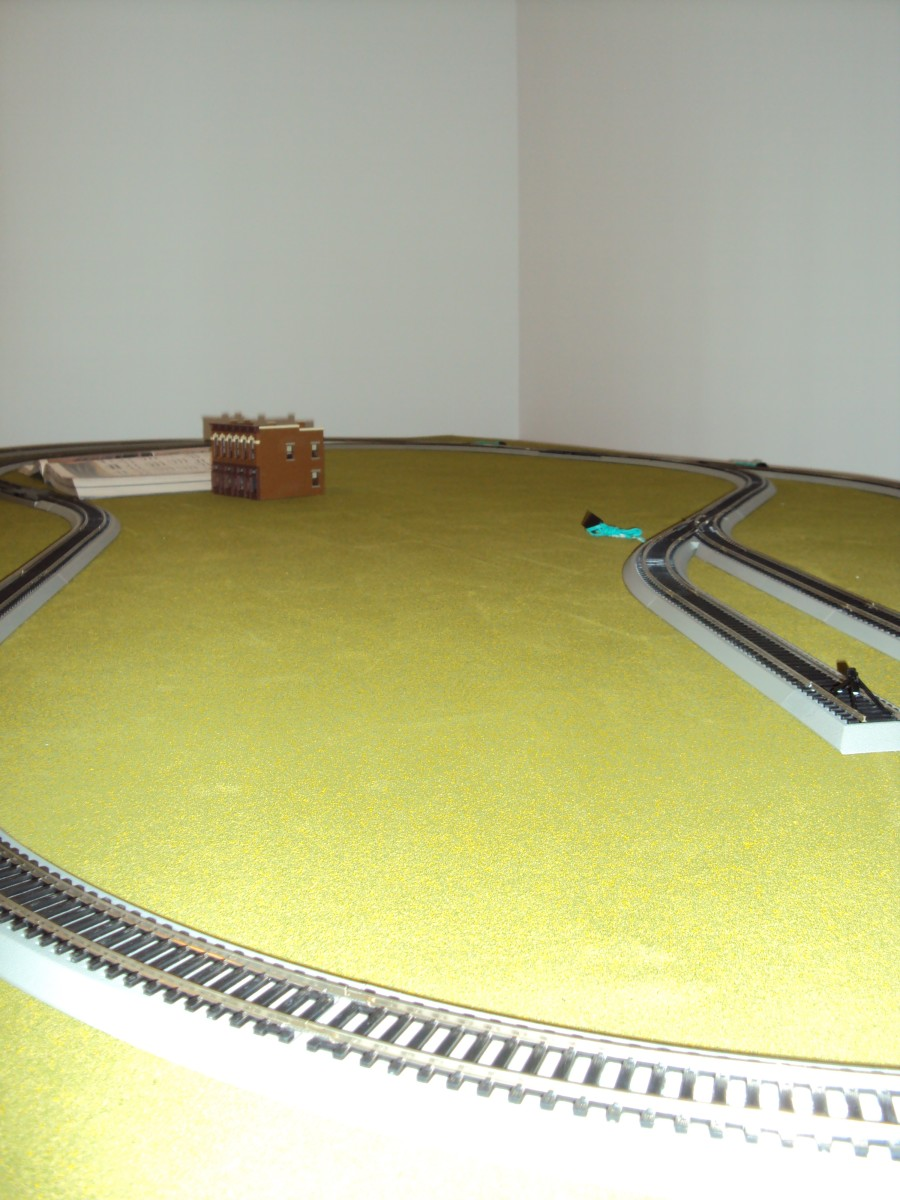 We have a lot of work yet to do on this 1970s era H.O. model layout, but the fun is in the journey -- not the destination. All Aboard!