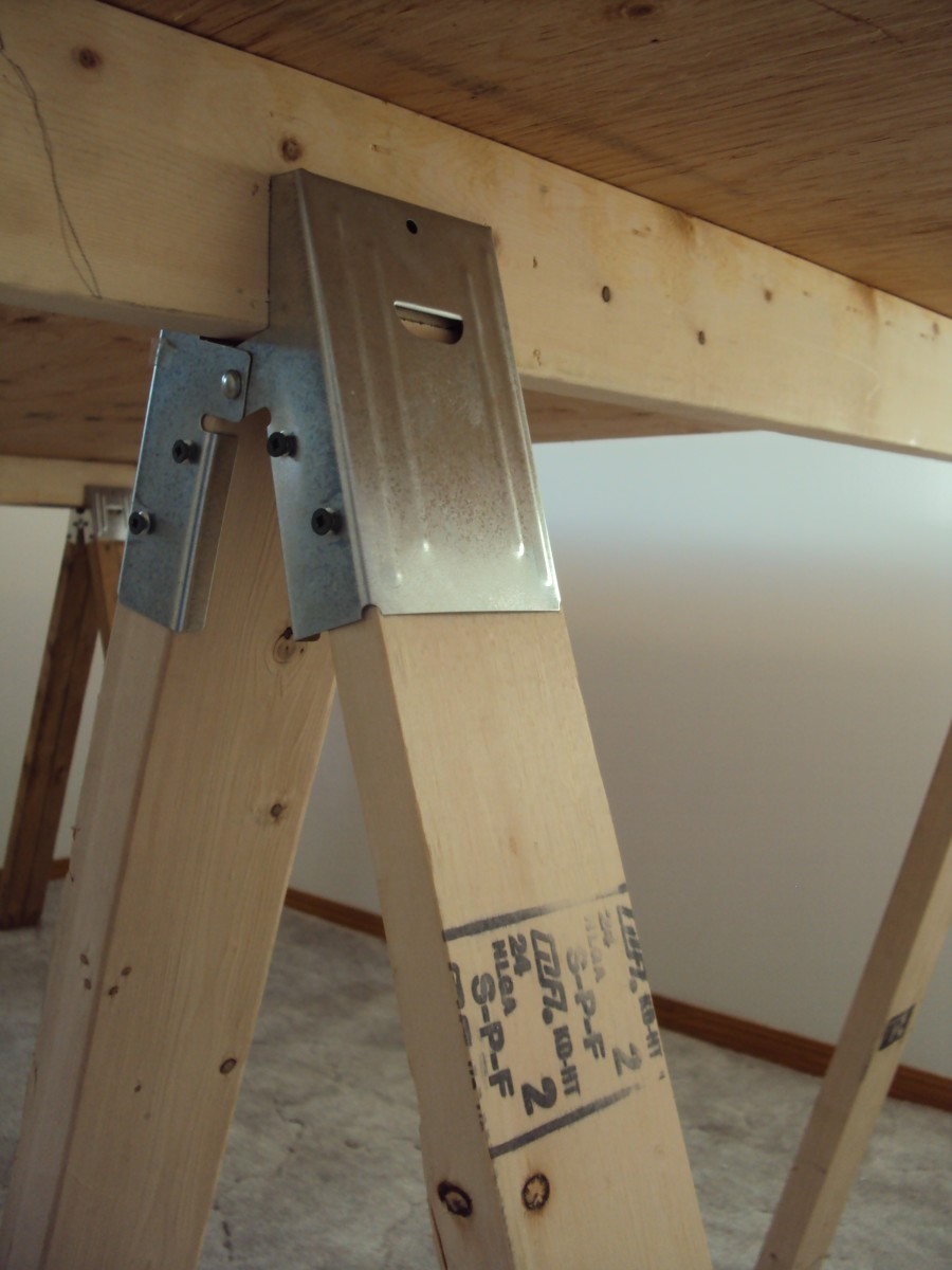 Build your sawhorses to the height you want to work at.