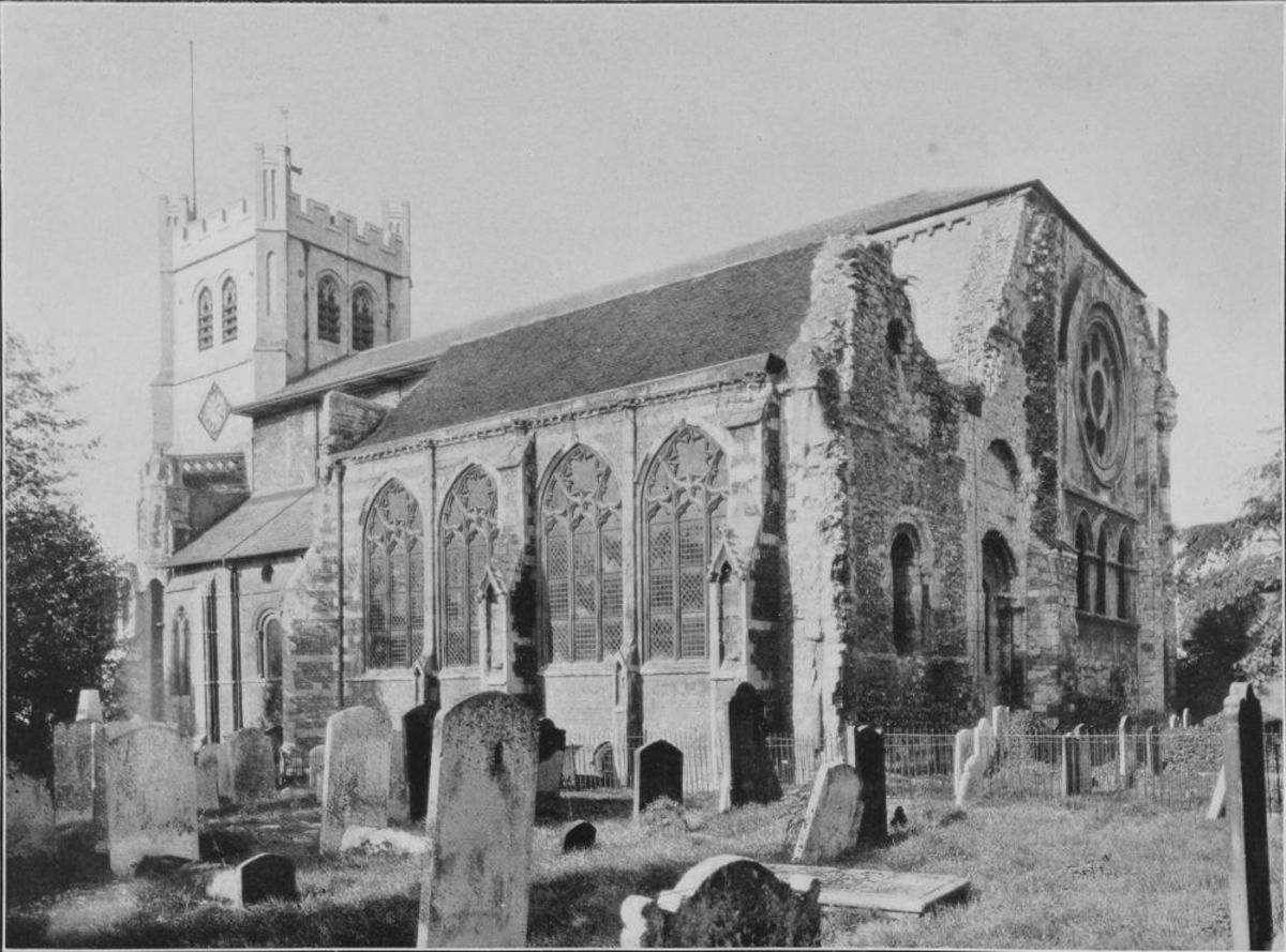 Waltham's church patronised and extended as a canonical college by Harold, and run by Dean Wulfwin