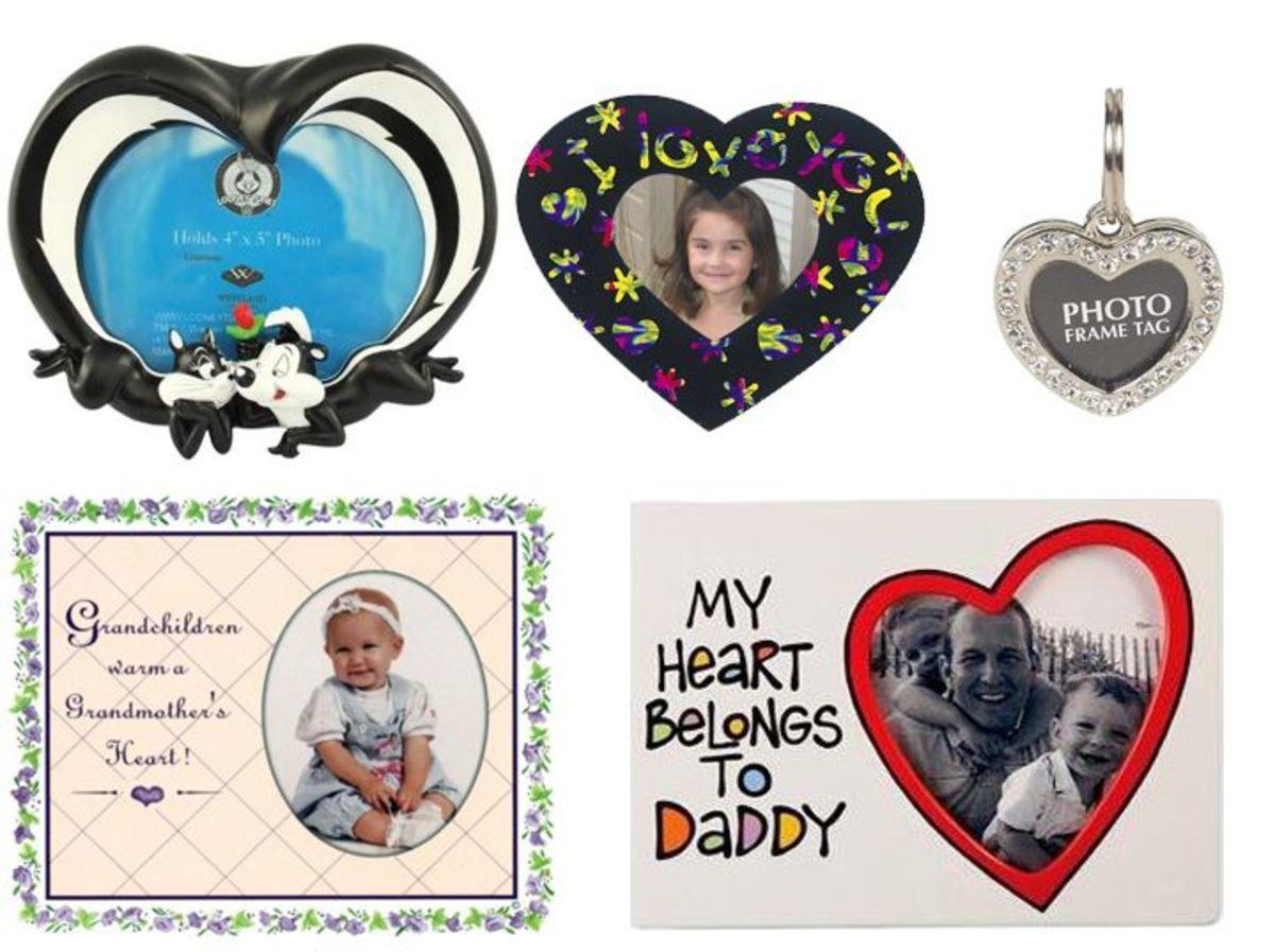 Fun Heart Photo Frames