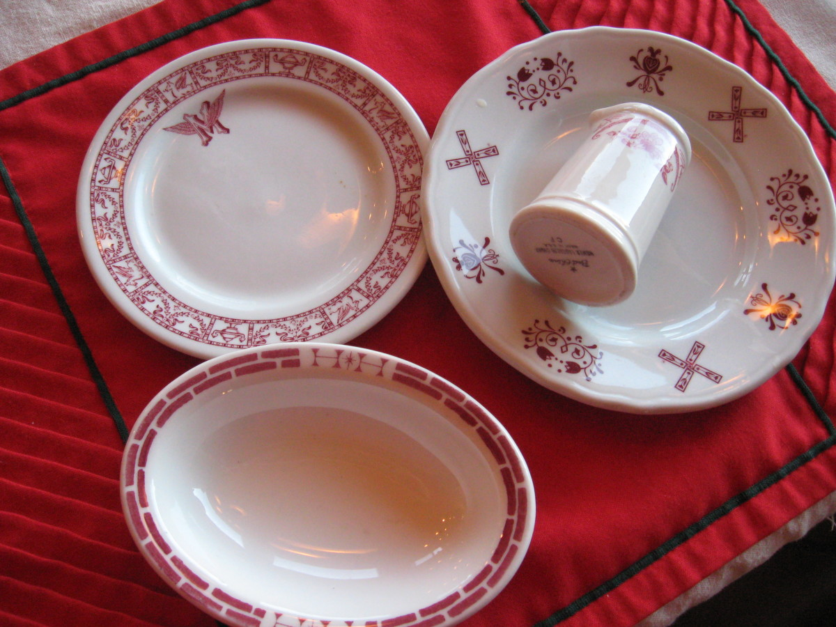 Collecting Restaurant China 1920s-1970s From Antiques to Funky