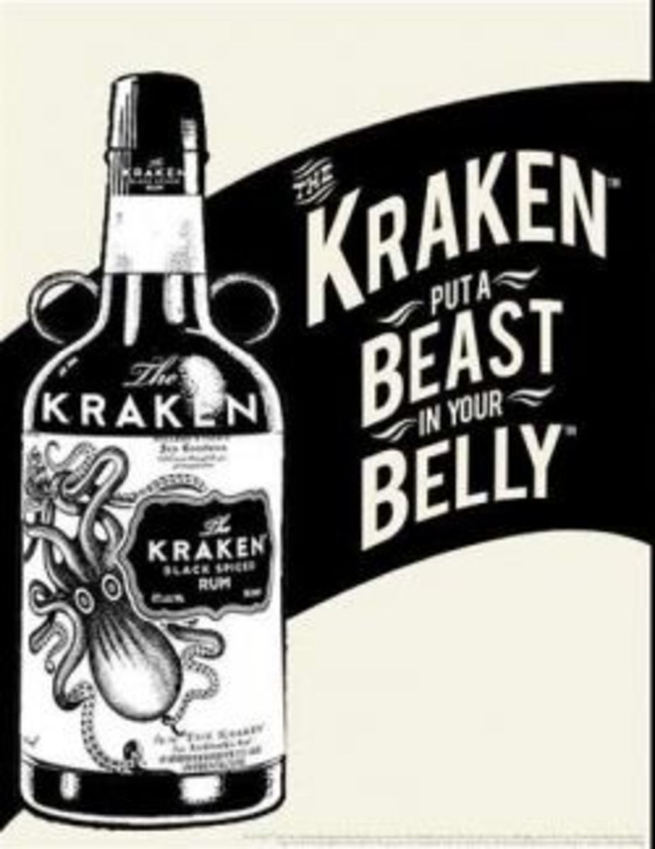 The Kraken Dark Rum