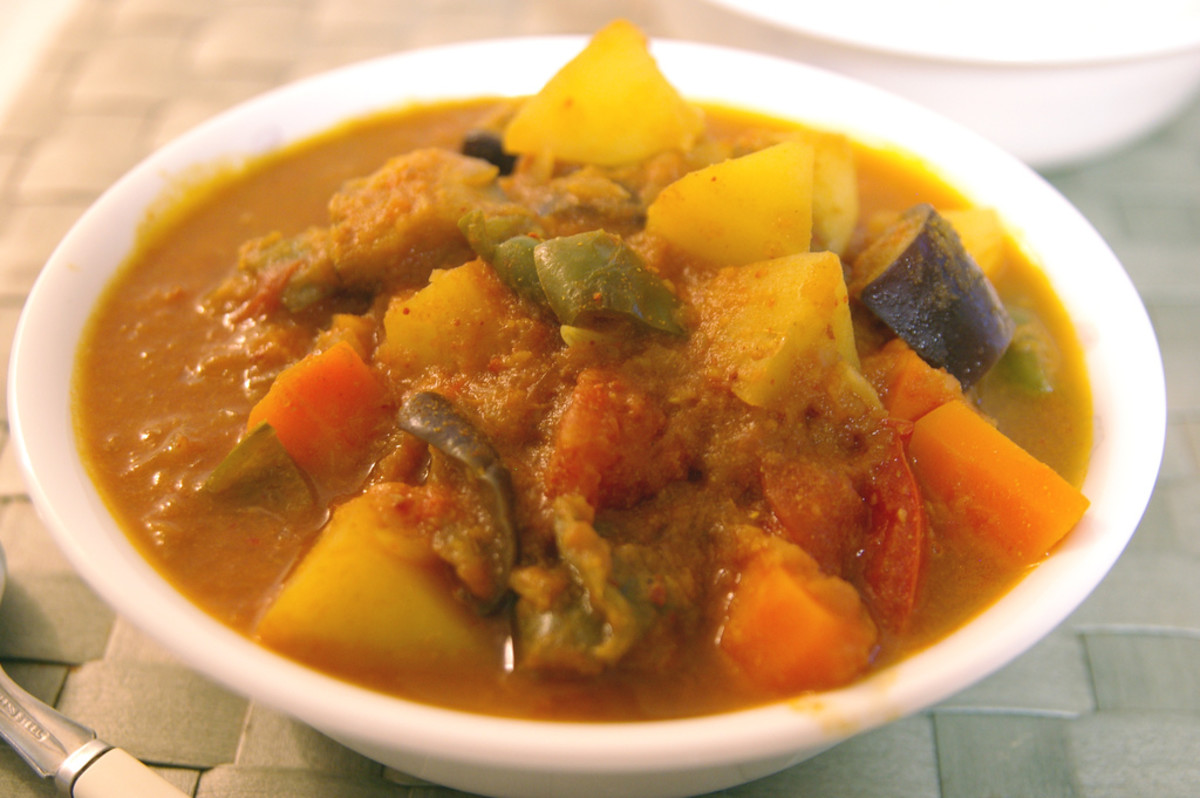 Vegetable curry (Ca Ri Chay)