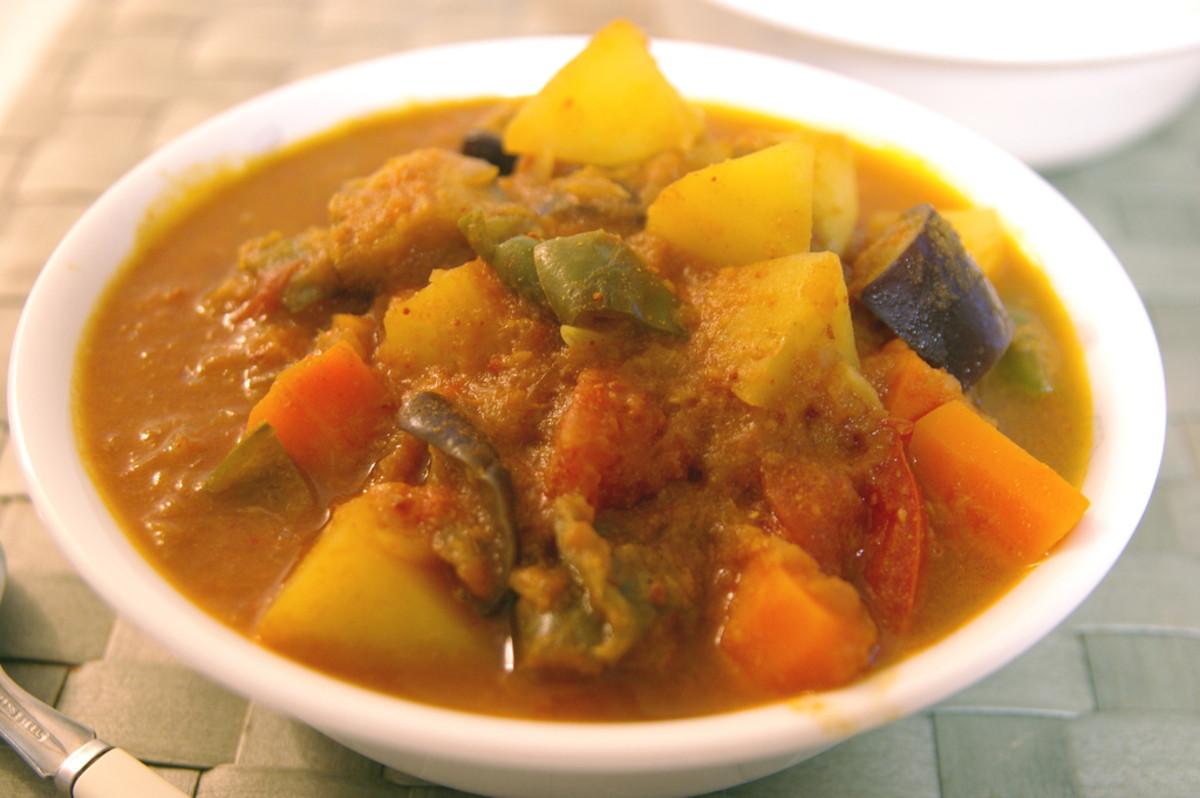 Vietnamese Vegetarian Curry Recipe (Ca Ri Chay)