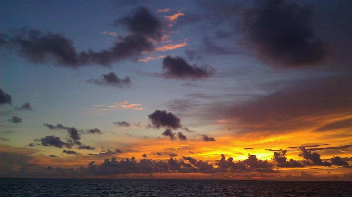 Sunset from The Naples Pier
