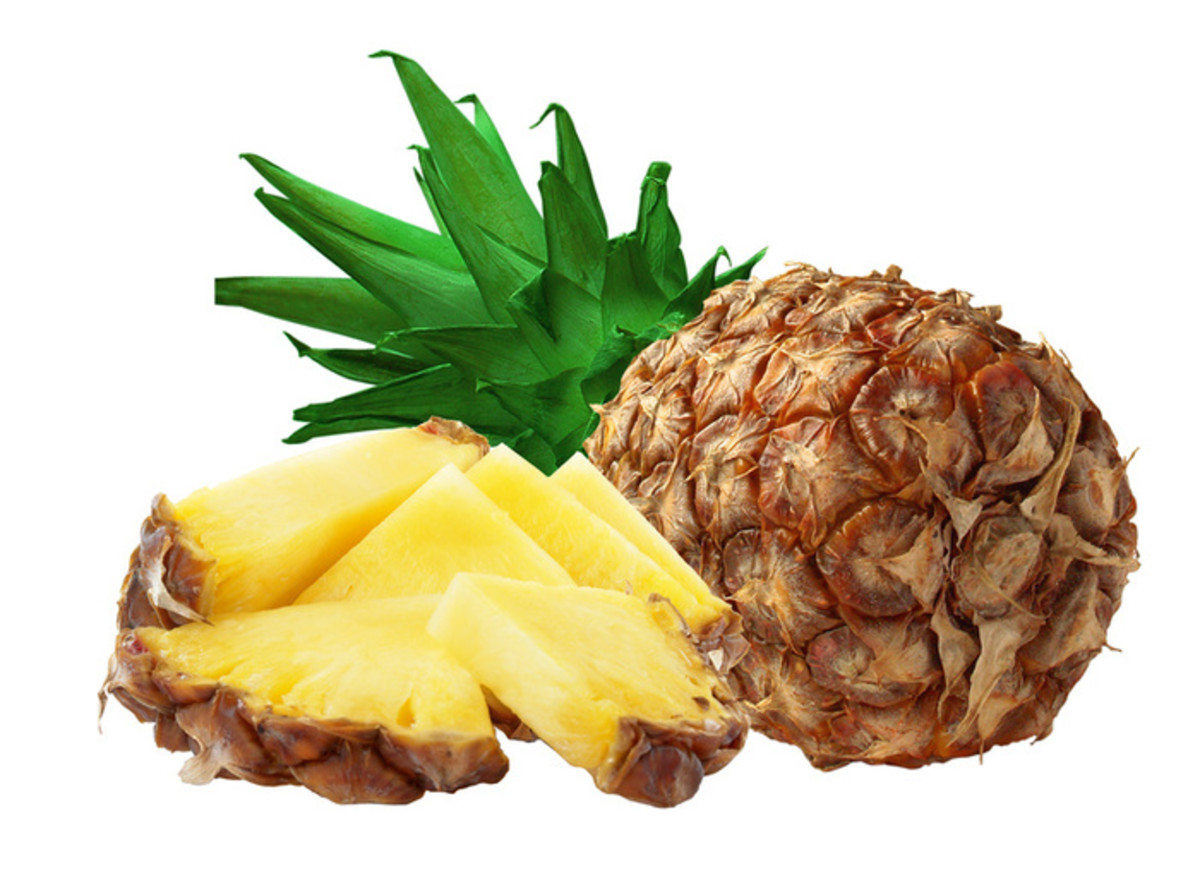 A lovely pineapple to provide bromelain