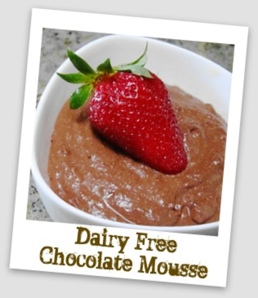 Lactose Dairy Free Chocolate Mousse Recipe
