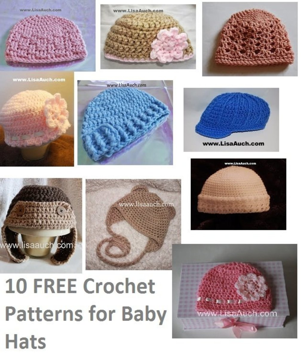 10 of my very favourite Hat Patterns
