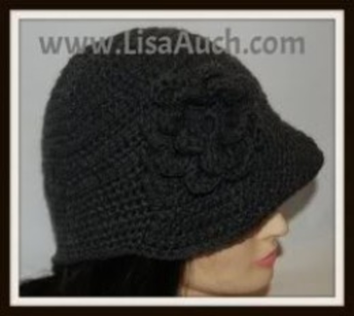 This always turns out perfect, Womans 20s style cloche hat
