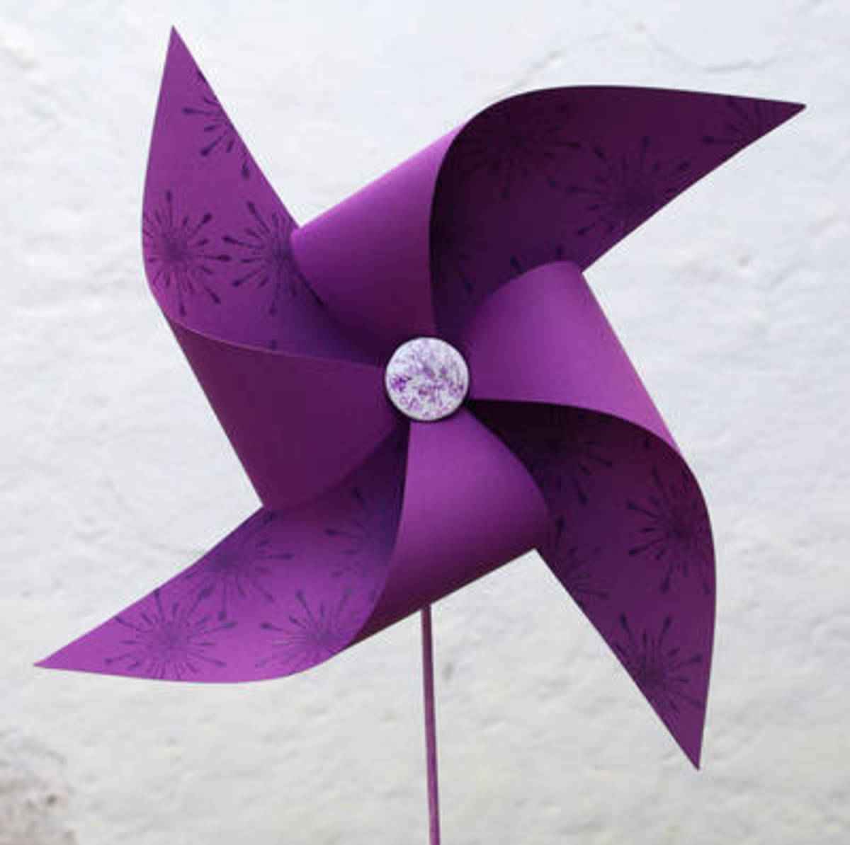 How To Make A Paper Pinwheel - Toy Paper Windmill Kids Craft