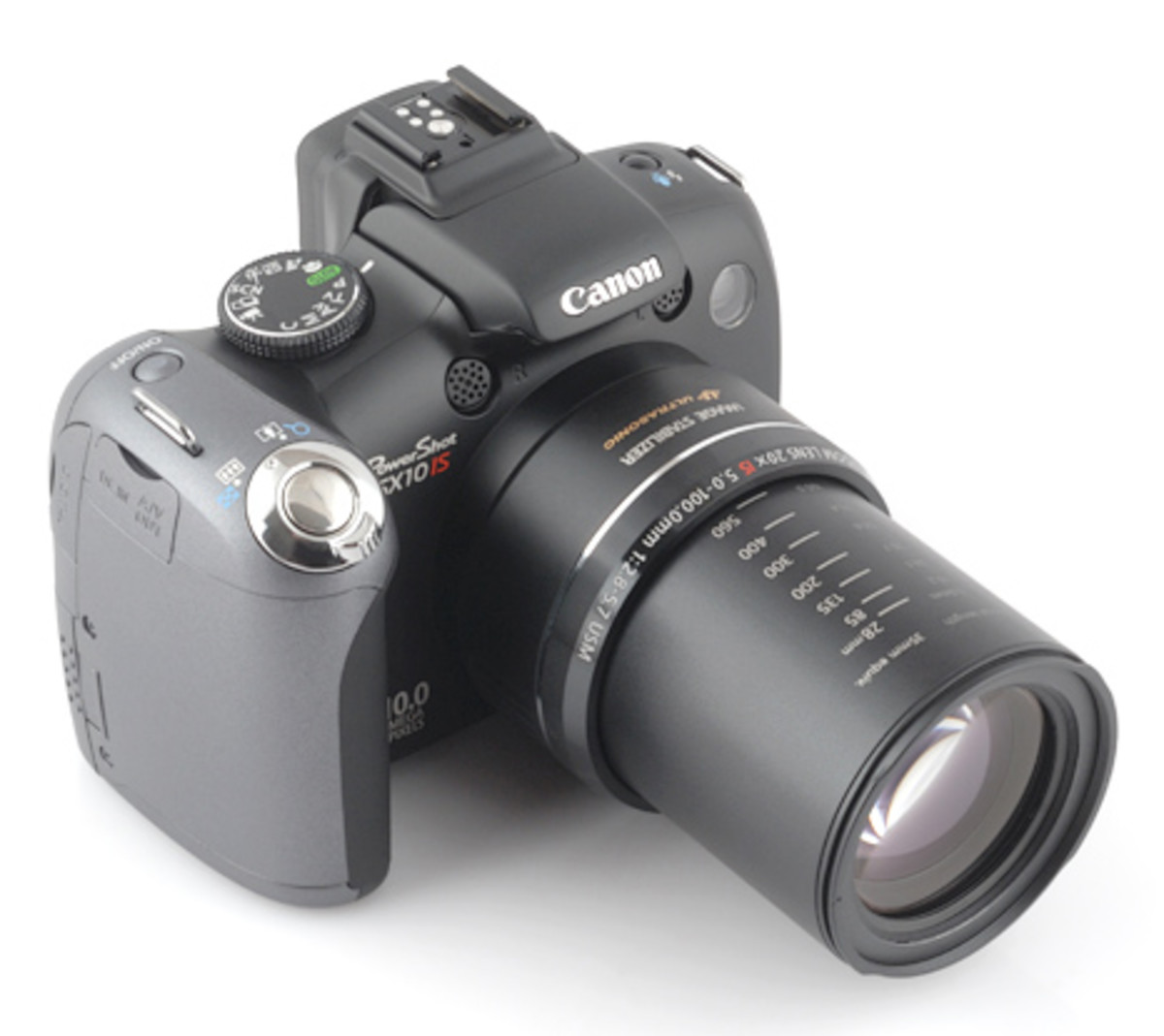 I use a Canon SX10 IS Super Zoom