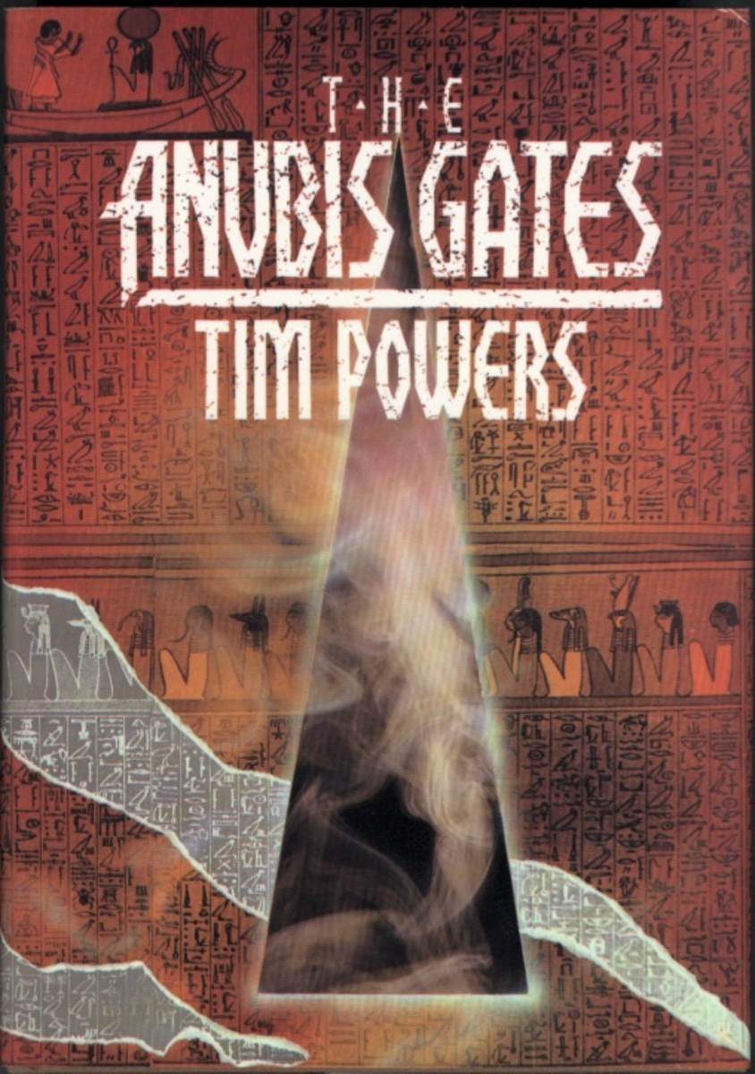 The Anubis Gates by Tim Powers published in 1983 by Ace Books. It won the Philp K Dick award and was nominated for several more