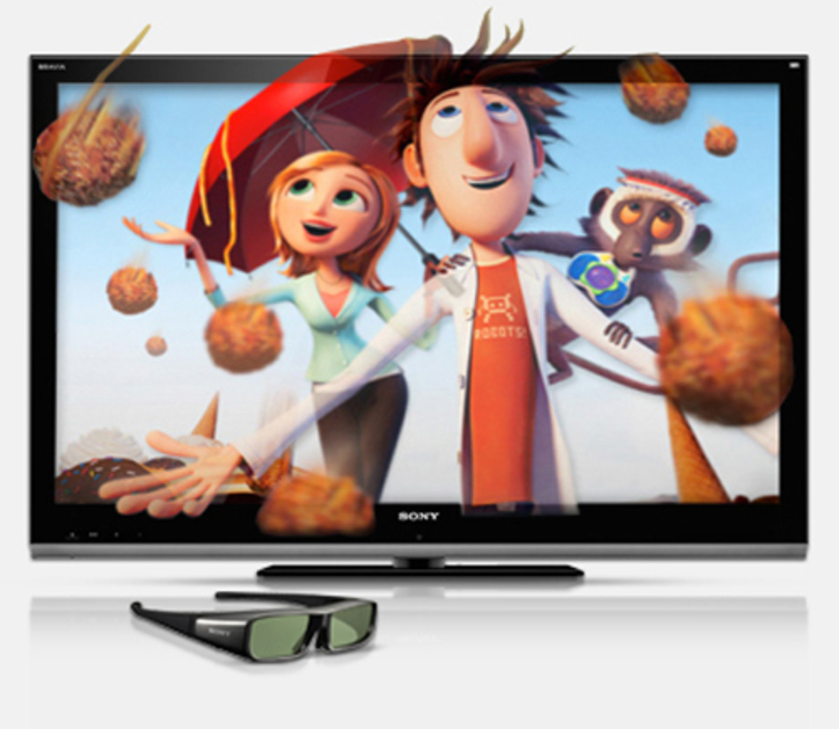 Sony XBR series TVs offer 3D functionality and come with a variety of pre-loaded Internet apps.
