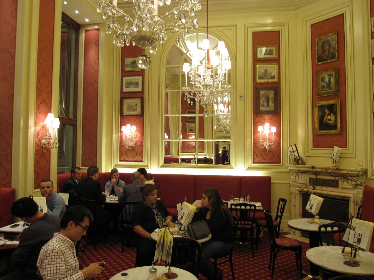 Inside the Hotel Sacher