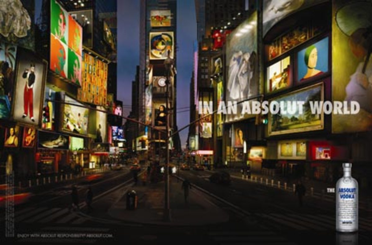 """""""Absolut World"""" campaign"""