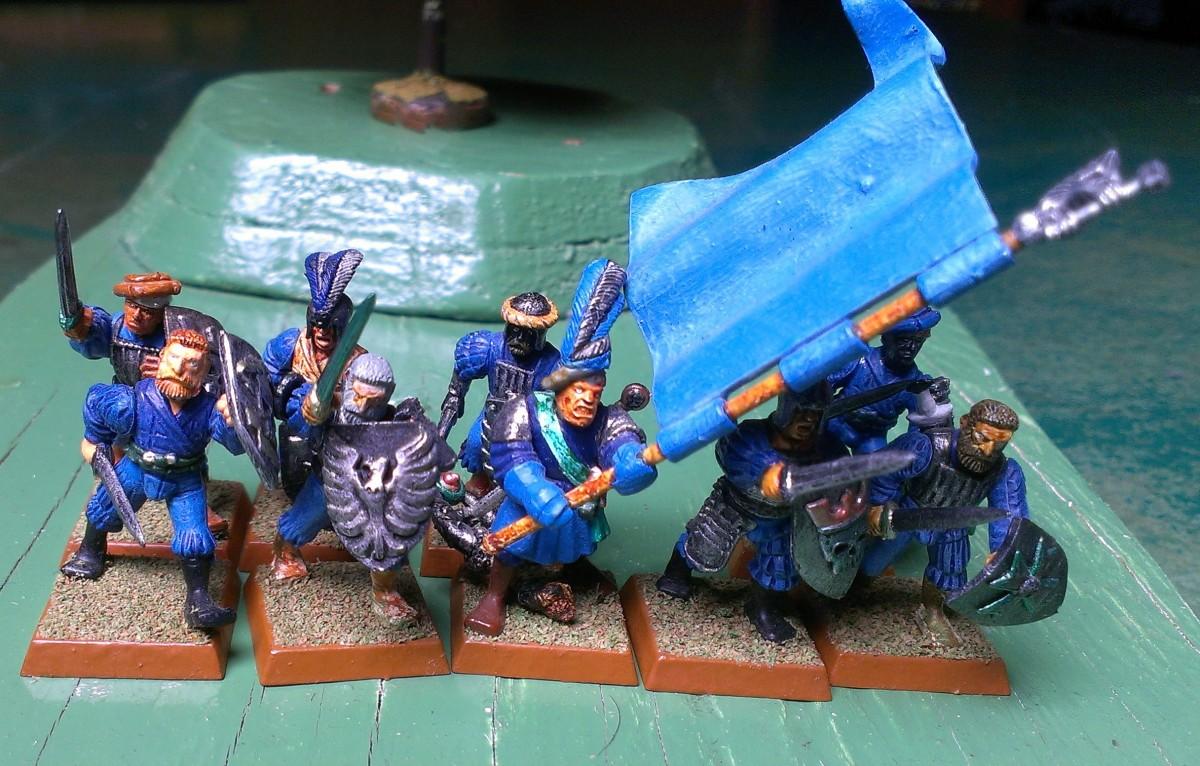 A small unit or detachment of Swordsmen