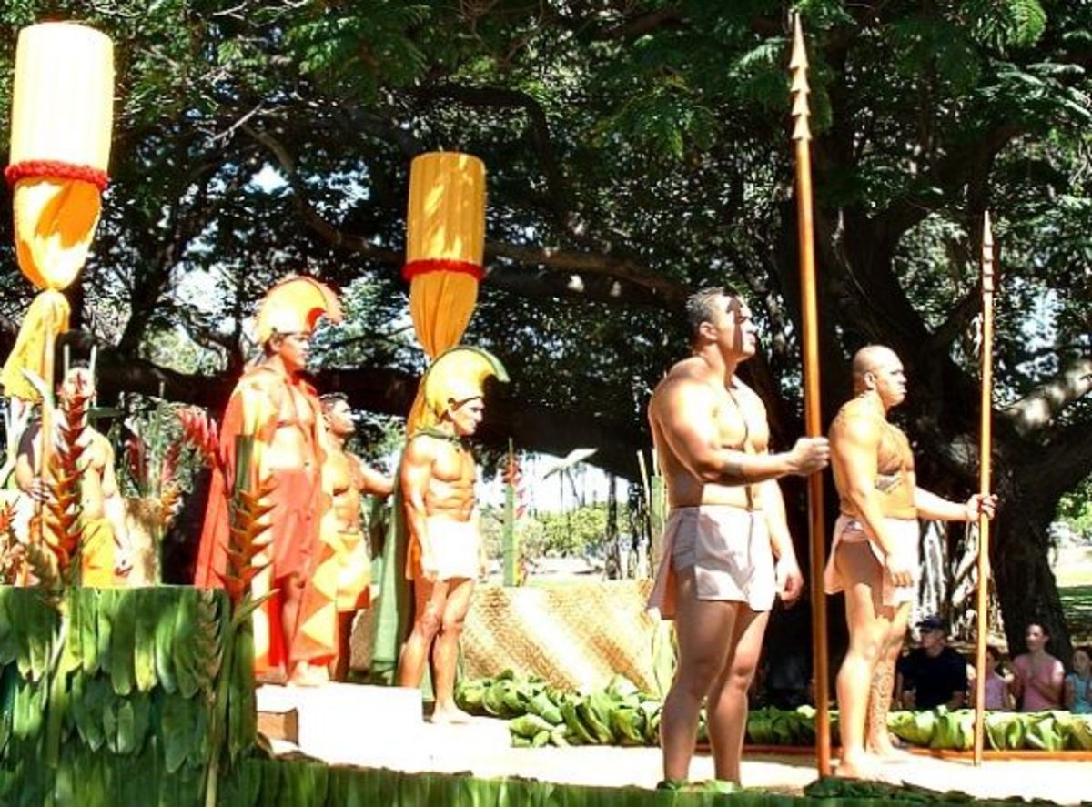 King Kamehamehas Royal Court - Kamehameha Day