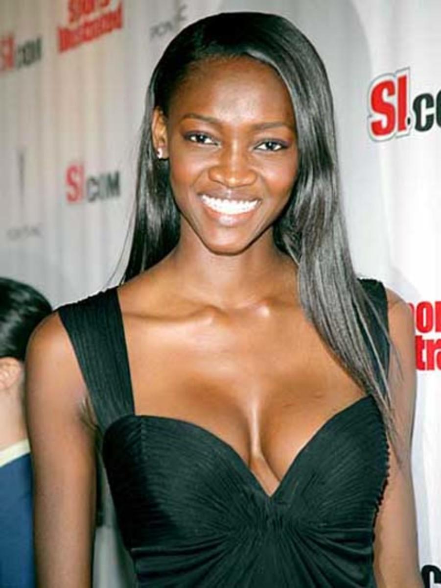 Nigerian African  Model Oluchi Onweagba-Orlandi