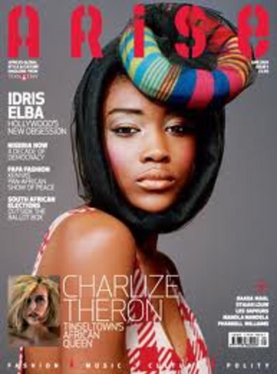British African Model Betty Adewole