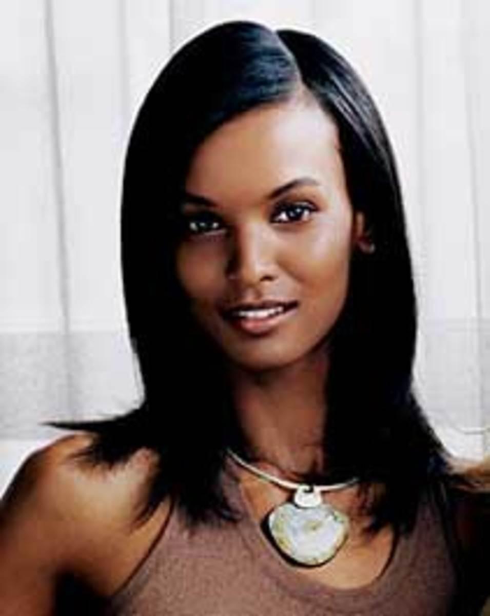 Ethiopian Black Supermodel Liya Kebede