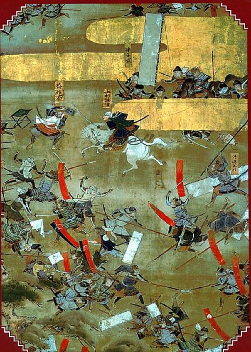 A Battle at Kawnakajima