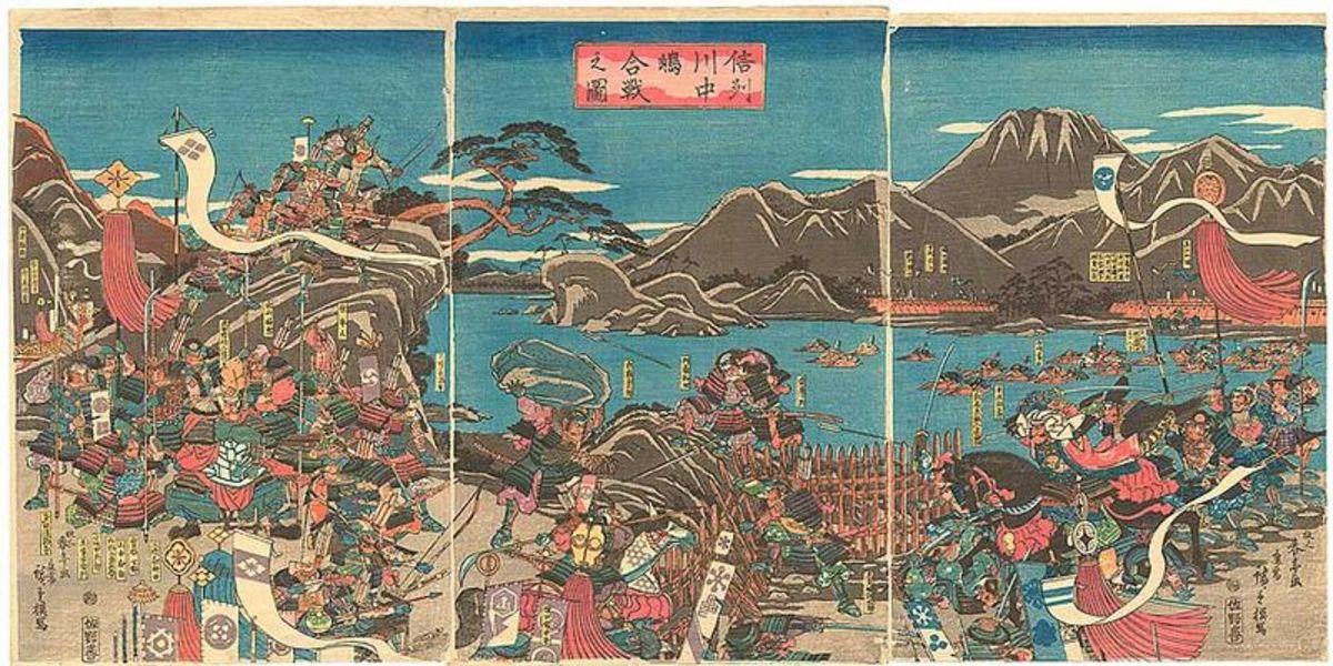 The fourth battle of Kawanakajima.