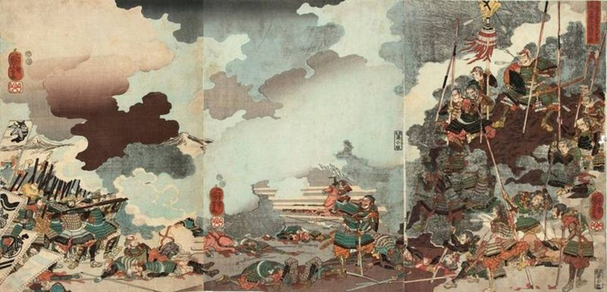 Battle at Kawanakajima