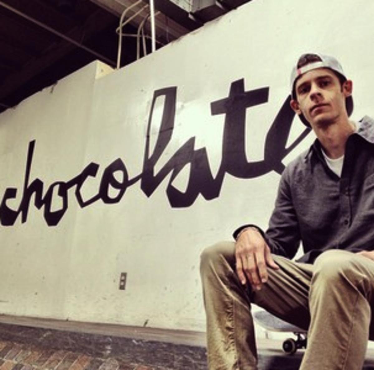 Professional skateboarder, Chris Roberts