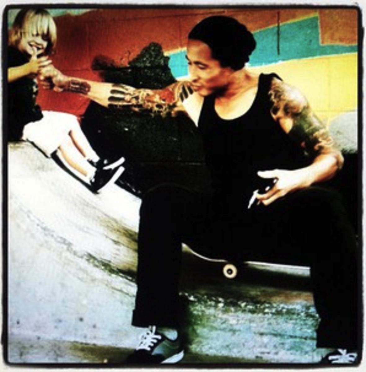 Professional Skateboarder, Daewon Song