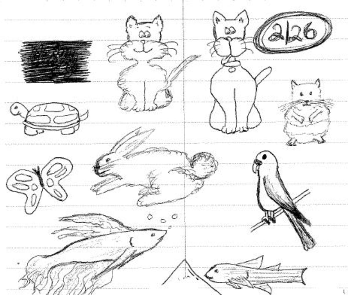 How to Become a Pro-Doodler in Your Spare Time