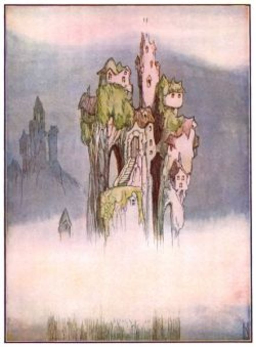 Here's Where Some Fairies Live!  Art From karenswhimsy.com