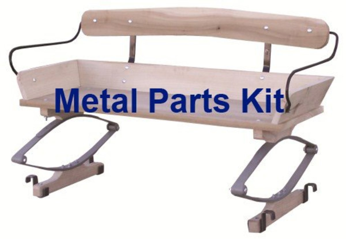 Authentic Wagon Seat Hardware Kit
