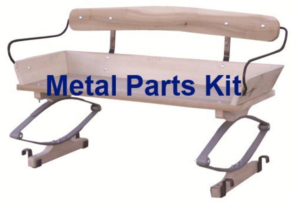 Authentic Wagon Seat Hardware Kit