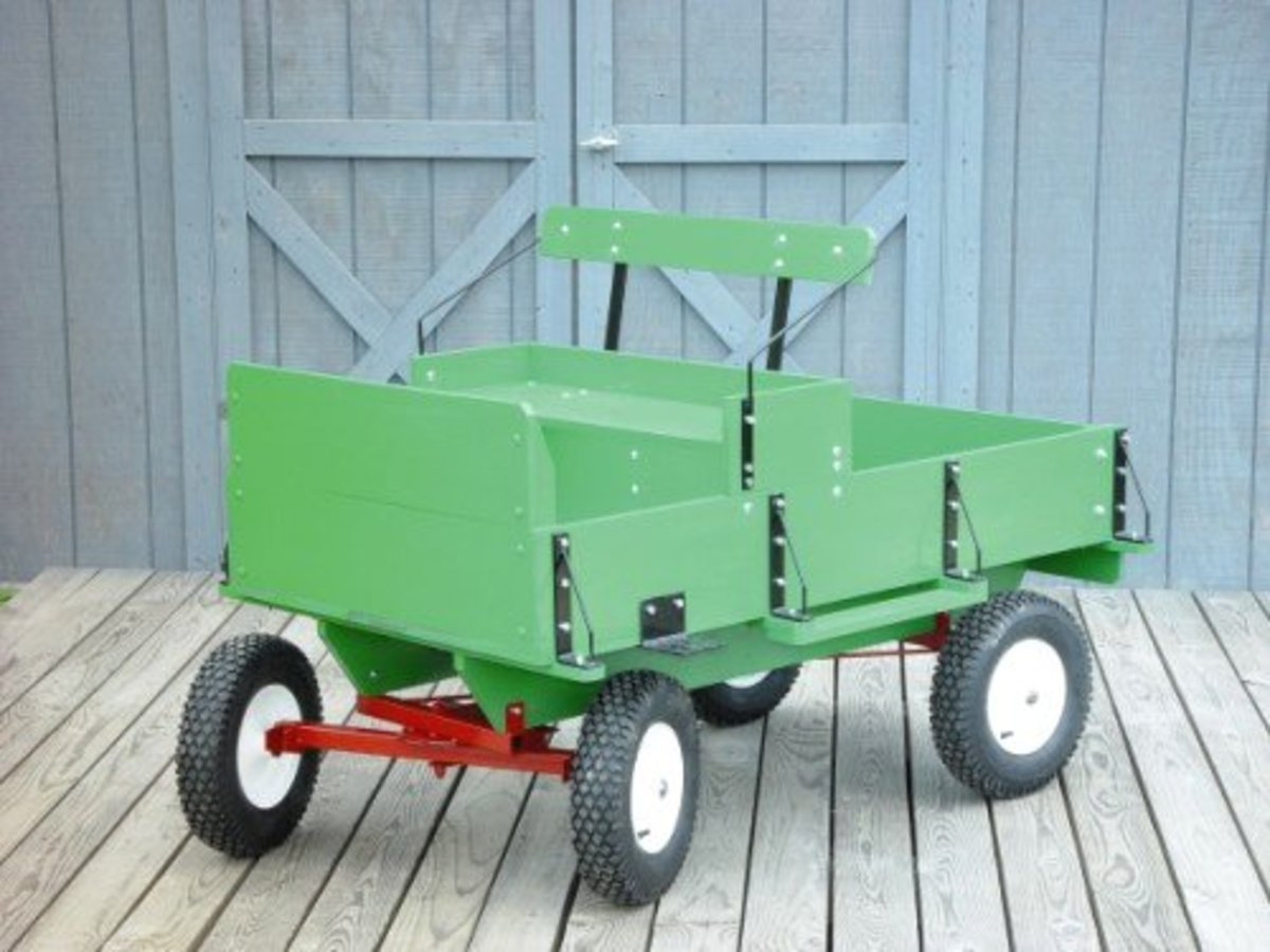 Pony Cart | Goat Cart | Wagon Gear | Complete Hardware Kit