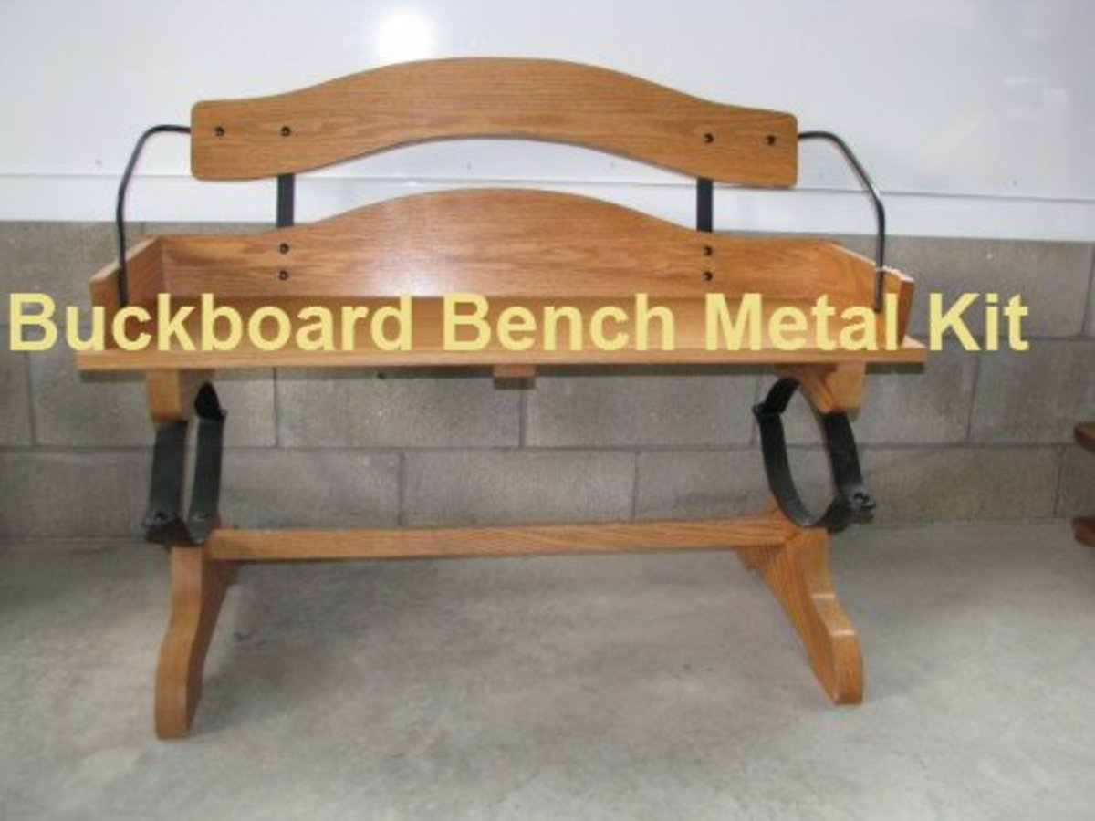 Buckboard Bench Hardware Kit