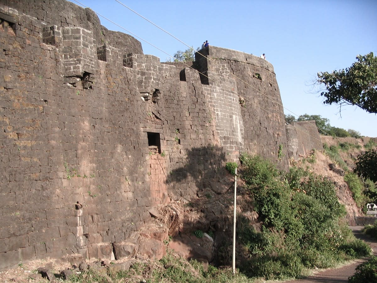 A section of Panhala Fort