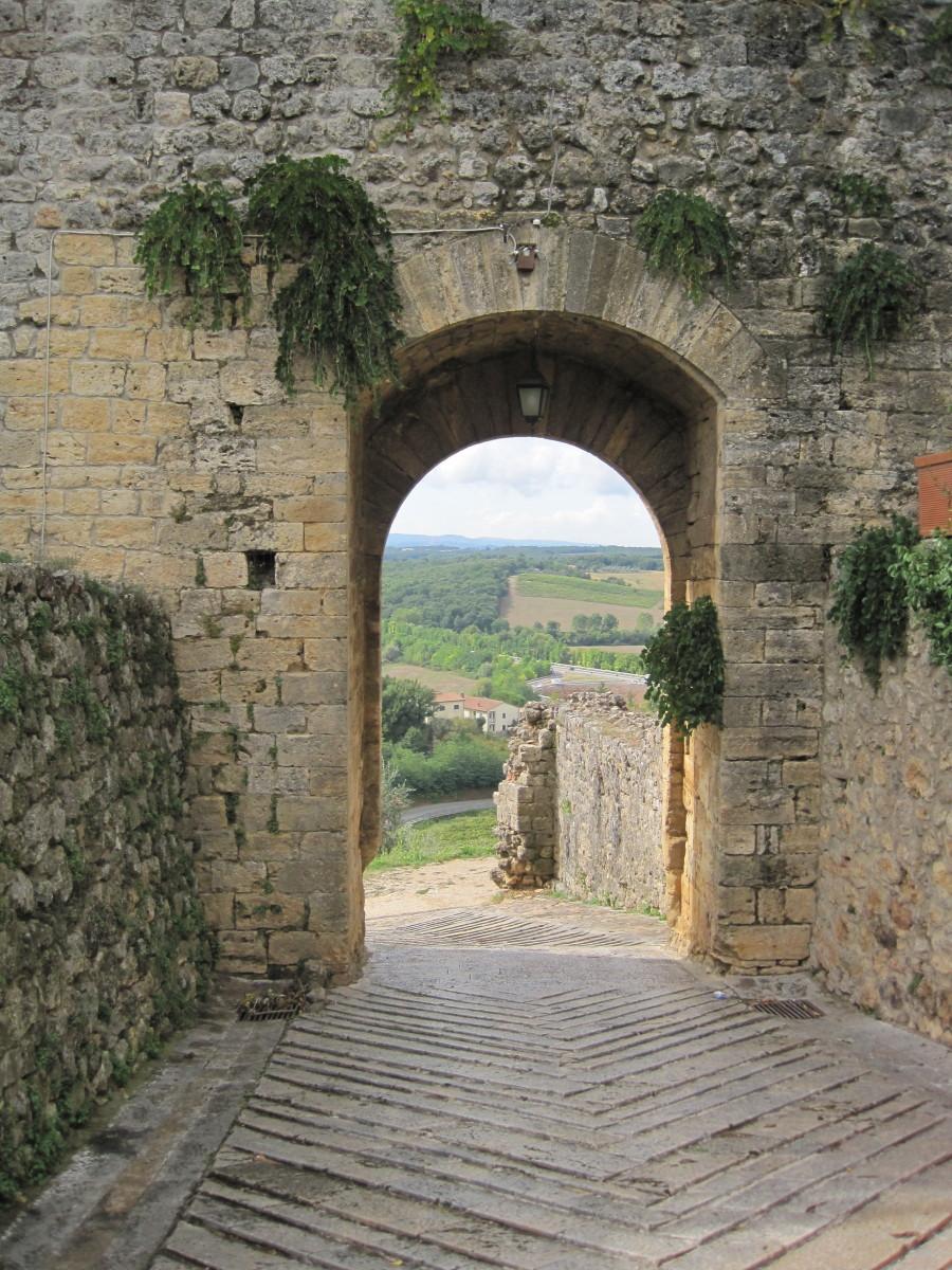 Entrance to Monteriggioni