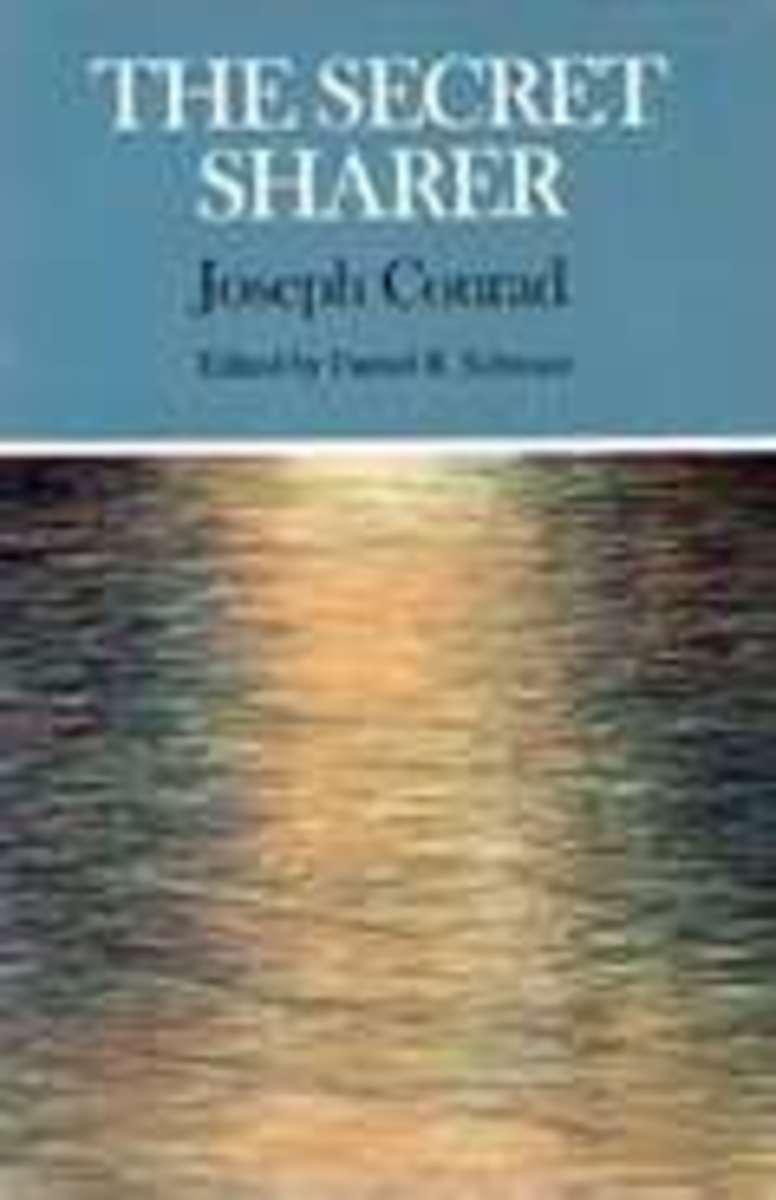"""The Secret Sharer"" Book Cover"