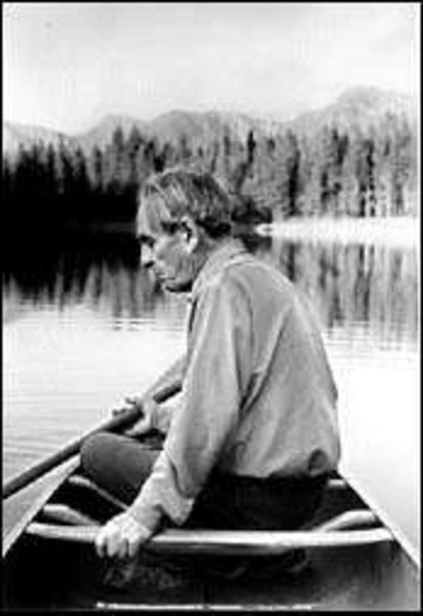 The real Norman Mclean on Seeley Lake