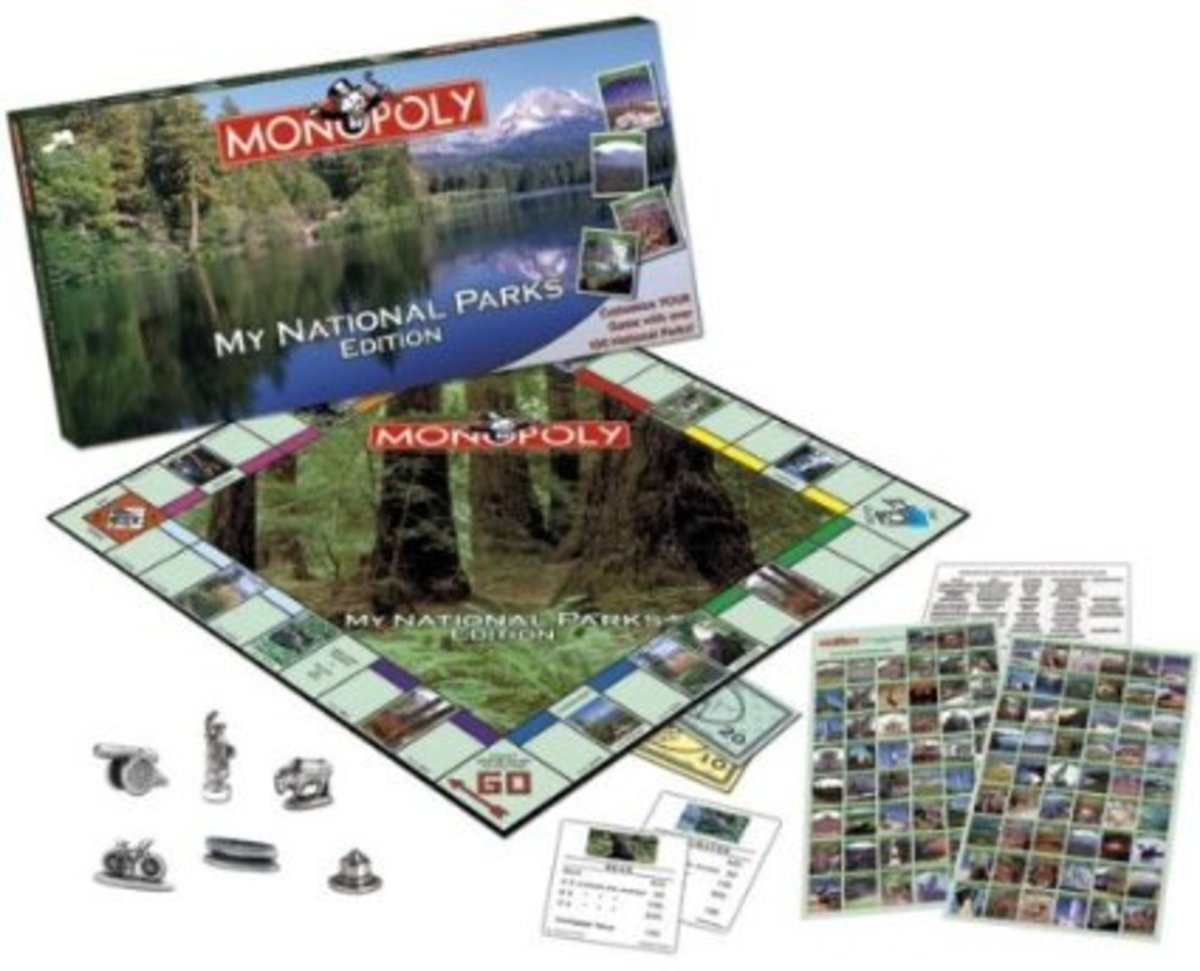 The National Parks game version