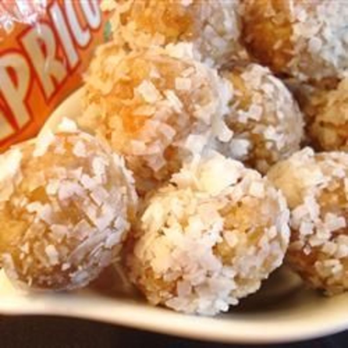 Apricot Confection No Bake Dessert