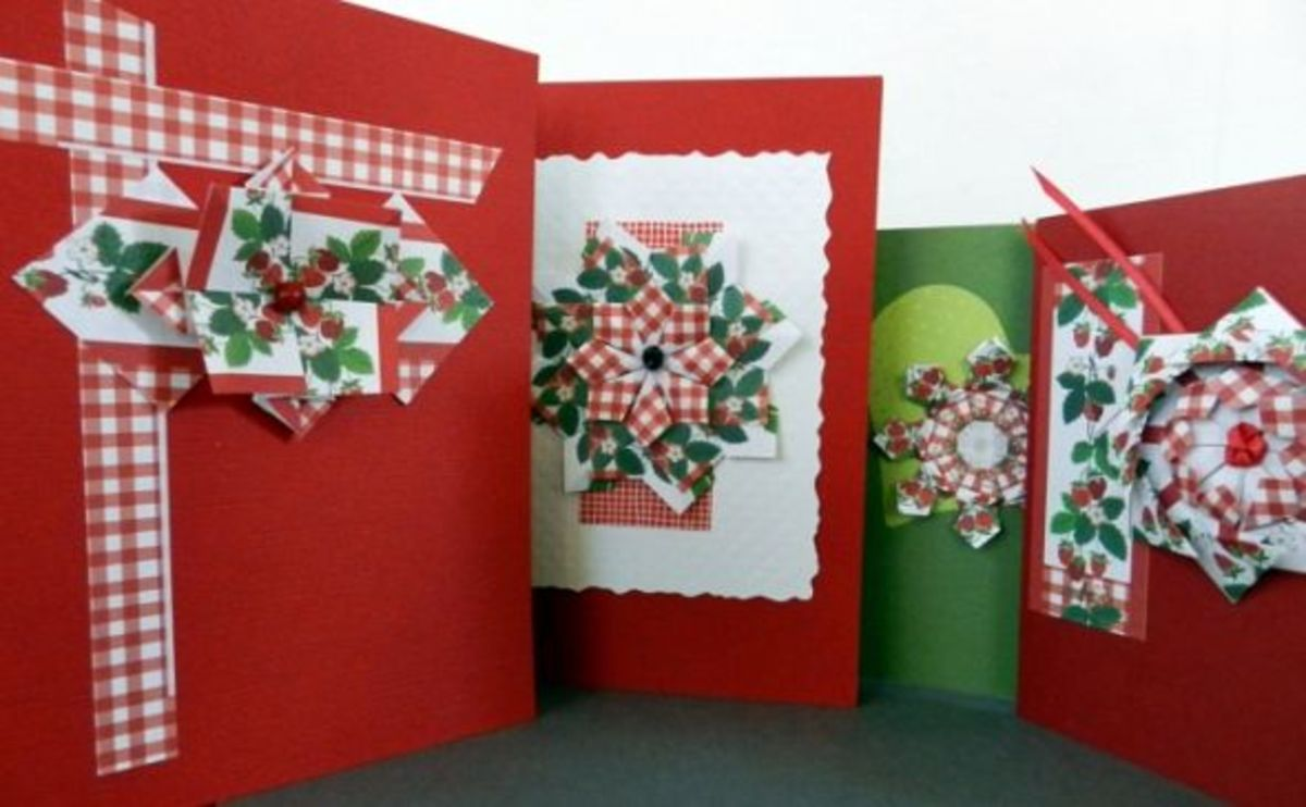 Tea Bag Folding Greeting Cards