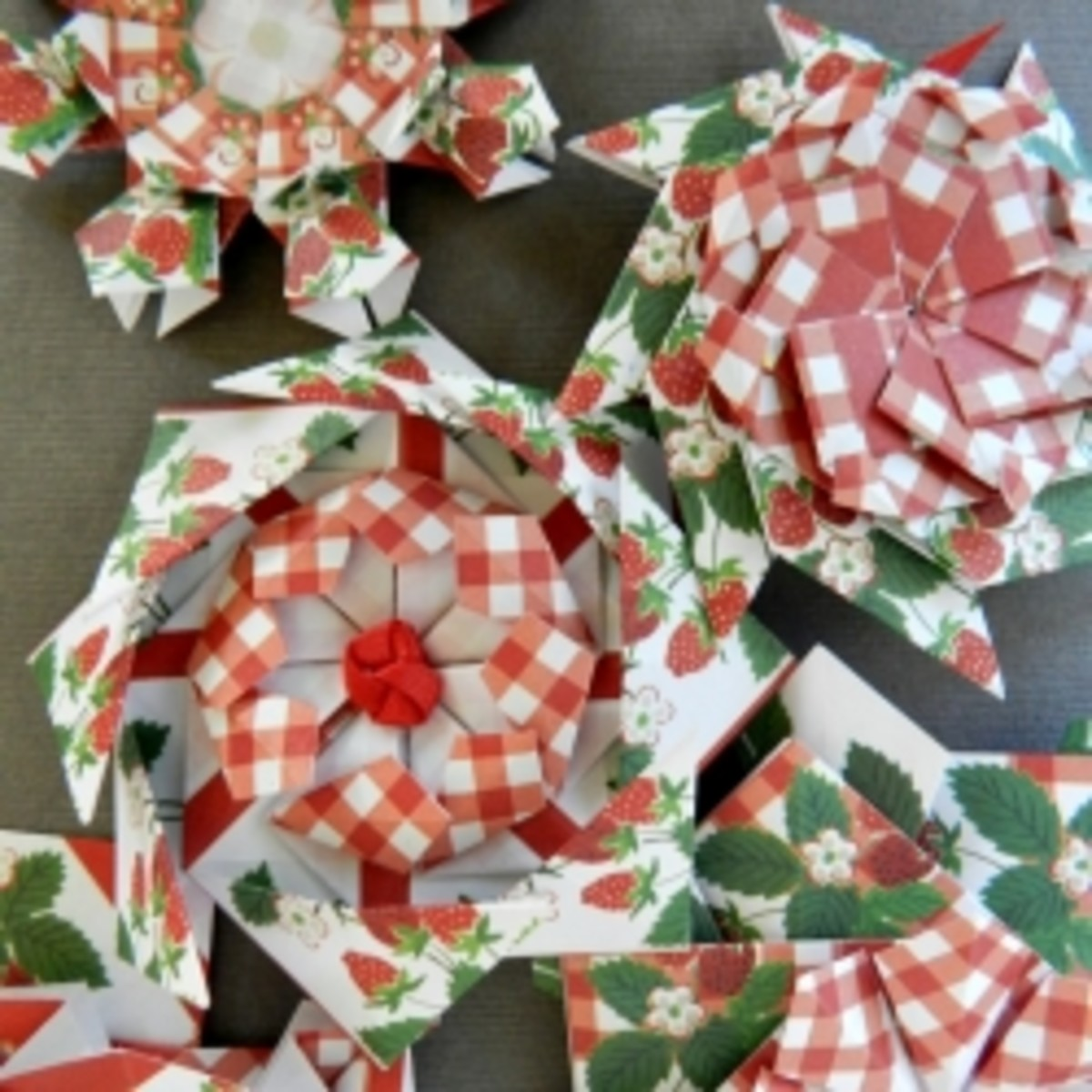 Tea Bag Rosettes