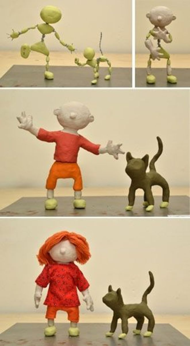 How To Make Puppets For Stop Motion Animation Jointed