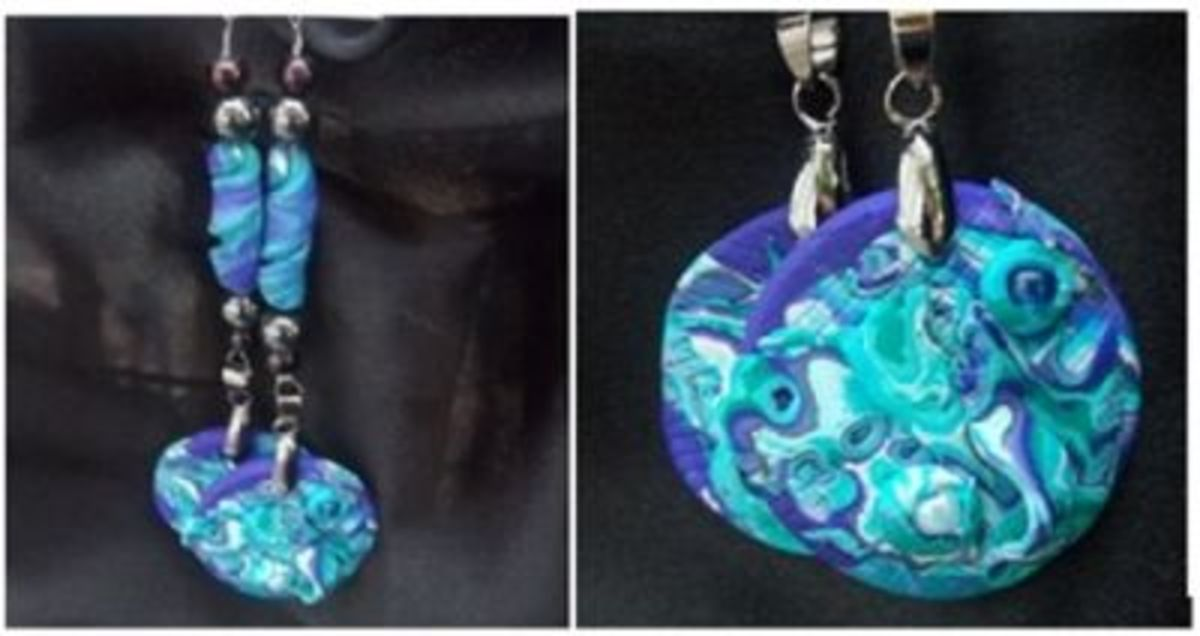 Under the Sea Earrings by Beads by L'hox
