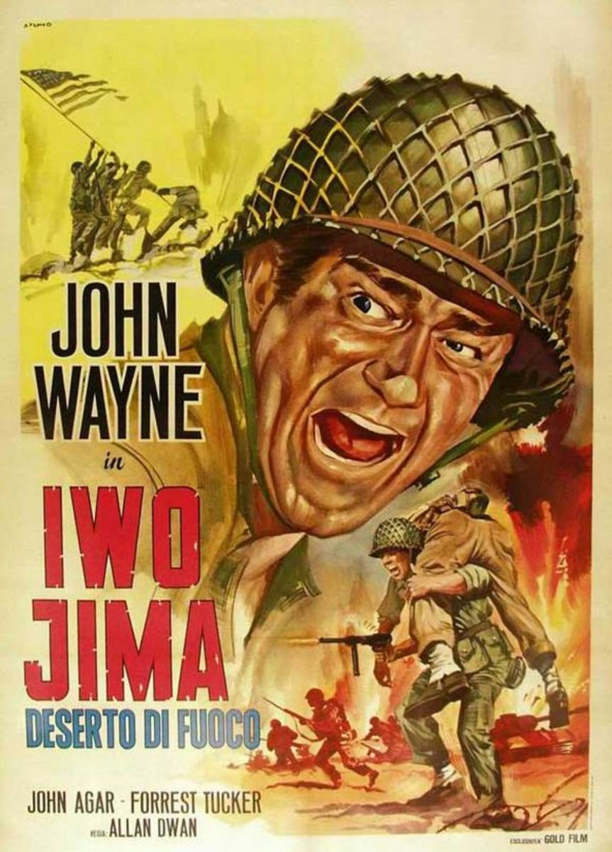 Sands of Iwo Jima (1949) Italian poster