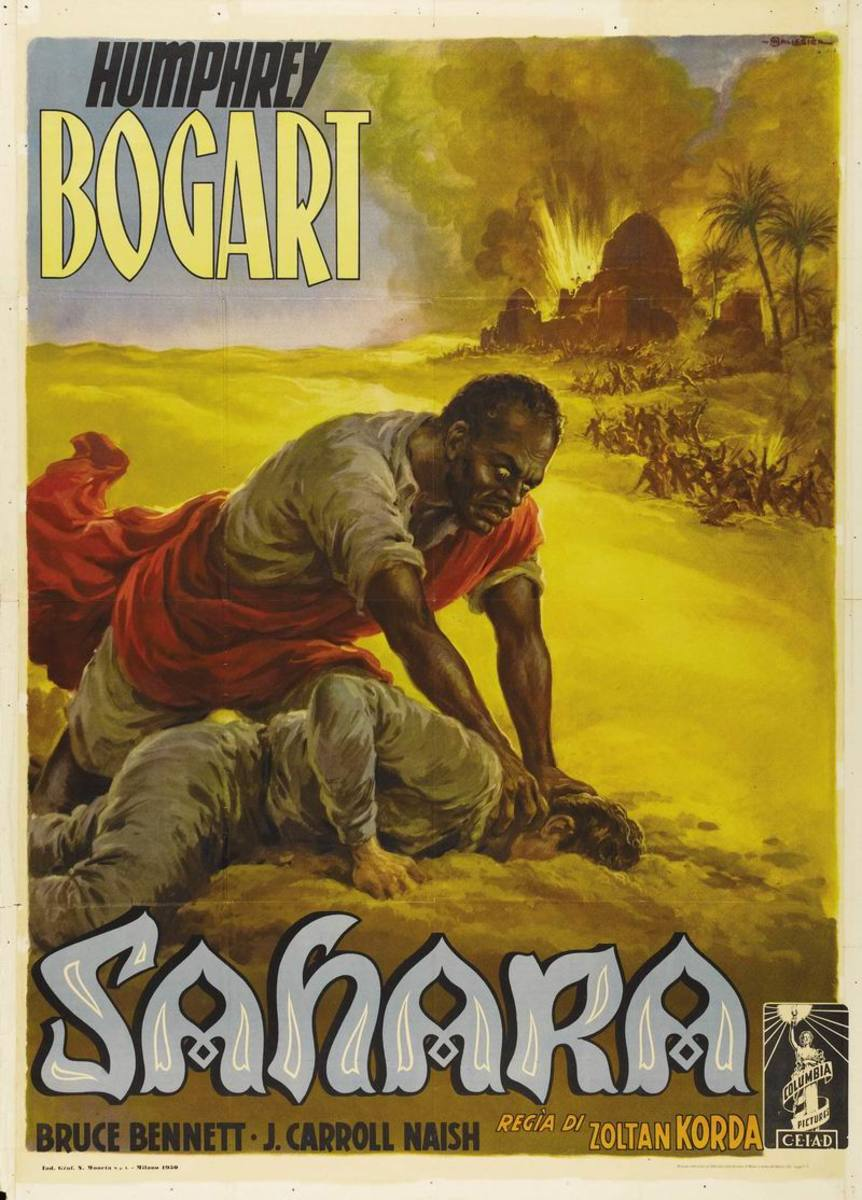 Sahara (1943) Italian poster
