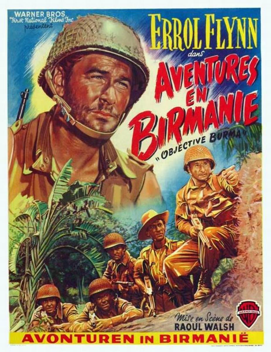 Objective Burma (1945) Belgian poster