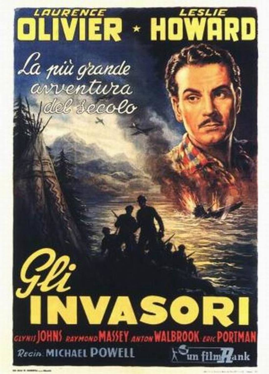The 49th Parallel (1941) Italian poster