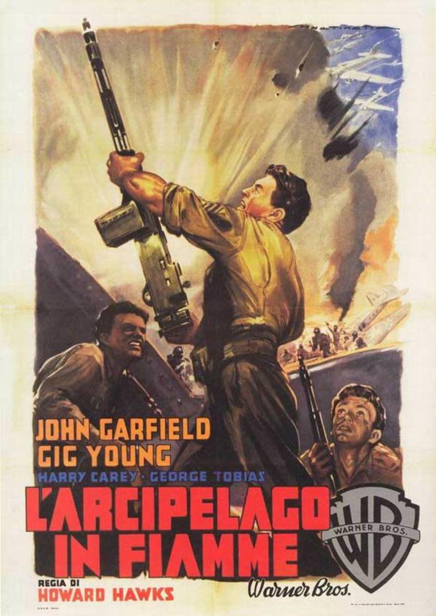 Air Force (1943) Italian poster